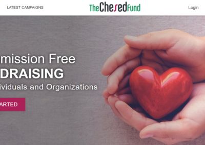 $40+ Million Crowdfunding Platform – The Chesed Fund