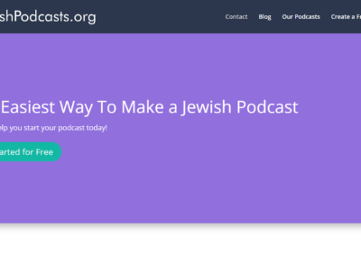 MVP Business Prototype – Jewish Podcast Network