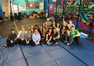 shalom shore acro yoga class hamilton ontario